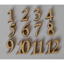 Cyfry arabskie 2cm