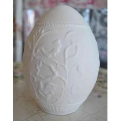 ***ceramika jajko z tłoczeniem 14*10