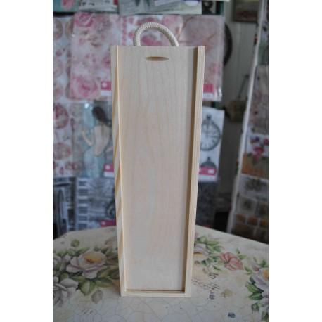 drew-pudełko na wino 1-komora 36*11*9,5 cm (sznure