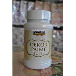 pentart farba kredowa biała 500 ml