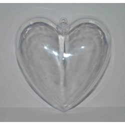 *** serce plexi 10cm