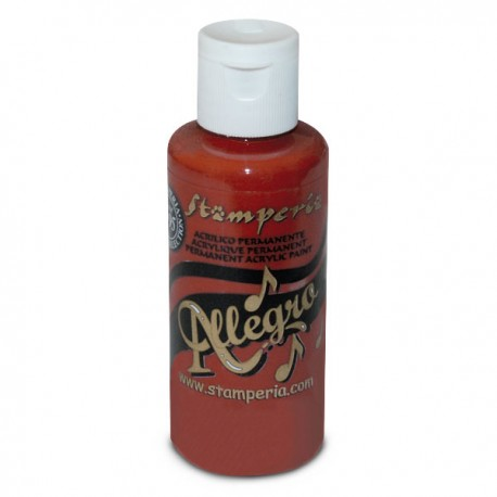 ***stamperia farba allegro cegła 59 ml KAL20