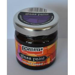 Pentart farba do szkła 50 ml fiołkowy
