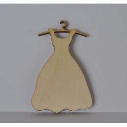 drew.sukienka na wieszaku 4*6 cm