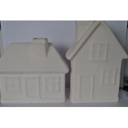 ***ceramika domek mały i wysoki
