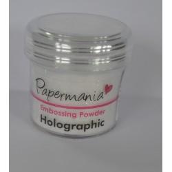 puder do embossingu biały holograficzny 20 g