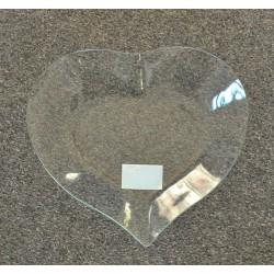 pentart szkło talerz serce 26*22,5 cm