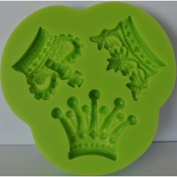 deco odlewy silikonowe 3 korony 3,5*4,0 cm