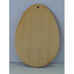 drew. jajko wiszące S 7x10cm