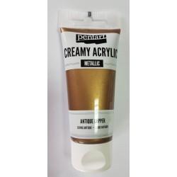 ***pentart farba creamy met.anty.miedź 60 ml