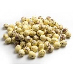***jajka mini 1*2cm nakrapiane kolor biały,żółty ,