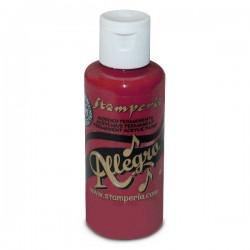 stamperia farba allegro 59 ml KAL04 bordowy