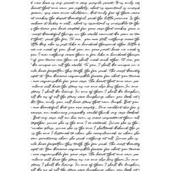 papier ryżowy 54*33 pismo na białym tle