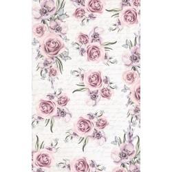 papier ryżowy 54*33 kwiaty, pismo