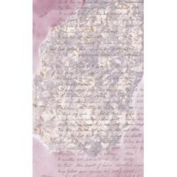 papier ryżowy 54*33 pismo, iluzja róż