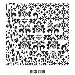 ***cadence szablon 45*45 cm GCS 008