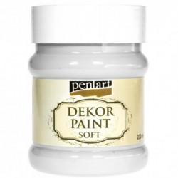 *** Pentart farba kredowa biała 230 ml
