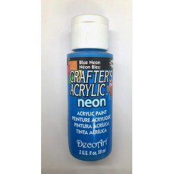 ***farba akrylowa decoart 59ml niebieski neon DCA1