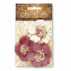 kwiaty gardenii - 3 szt. SF136