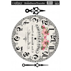 ***cadence transfer decor 25*35 cm HDT031 zegar