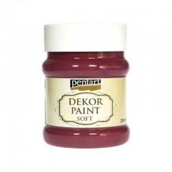 *** Pentart farba kredowa czerwony kardynalski 230