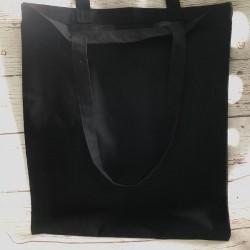 torba bawełniana czarna 38*42cm london