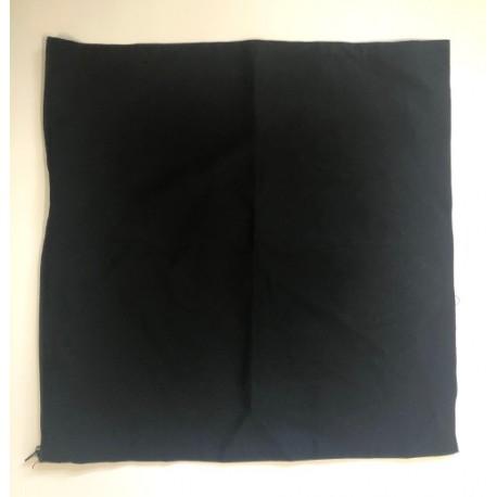 poduszka bawełniana 40*40 cm czarna