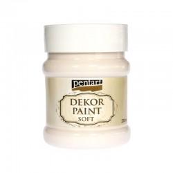 *** Pentart farba kredowa kremowy biały 230 ml