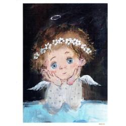 ***papier cienki A-6 2151 aniołek dziecię