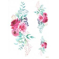 ***papier ryżowy A-4 2313 róże