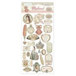 *** dekory samop. papier 800g 15*30cm princess