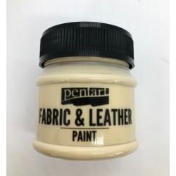 pentart farba do tkanin i skór 50ml beżowy