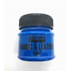pentart farba do tkanin i skór 50ml niebieski