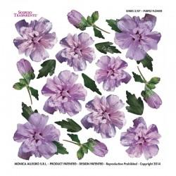 ***folia sospesso S2/07 purple flower