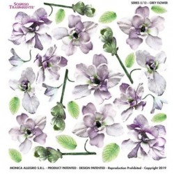 ***folia sospesso S5/13 grey flower