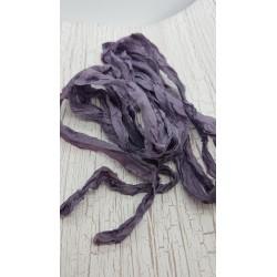 ***wstążka pudr.fiolet shabby 2-2,5cm/120cm