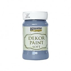 ***pentart farba kredowa 100 ml grafitowa