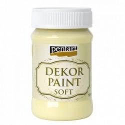 ***pentart farba kredowa 100 ml żółty