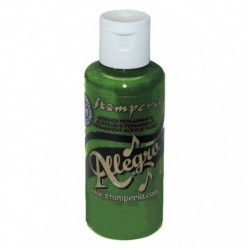 ***stamperia farb allegro KAL29 ciemny zielony