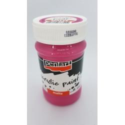 ***pentart farba akrylowa 100 ml magenta