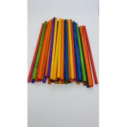 ***patyczki drewniane kolor 15cm*5mm/ 50szt