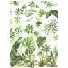 ***papier ryżowy A-4 R1757 zielone liście