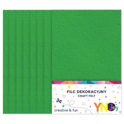 filc miękki A4 c.zielony