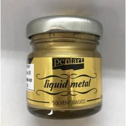 pentart płynny metal złoto 30 ml
