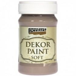 ***pentart farba kredowa 100 ml czekolada mleczna