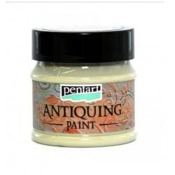 ***pentart farba antyczna kremowa zieleń 50 ml