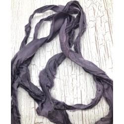 wstążka fiolet shabby 2-2,5cm/120cm