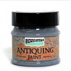 ***pentart farba antyczna ciemny ołów 50 ml