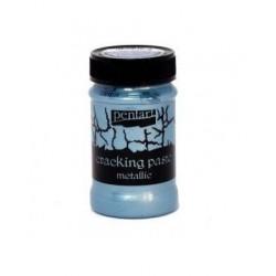 pasta pękająca srebrzysty niebieski100ml