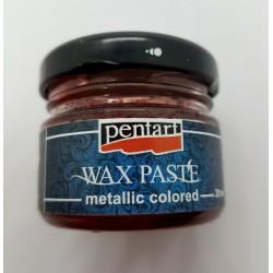 ***pentart pasta woskowa czerwona 20 ml